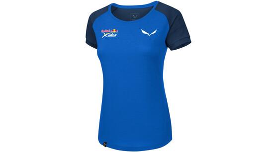 Salewa Redbull X-Alps Delt - Camiseta manga corta Mujer - azul ... 114af66adabf2
